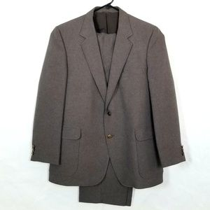 Vtg Haggar 2 Button Suit
